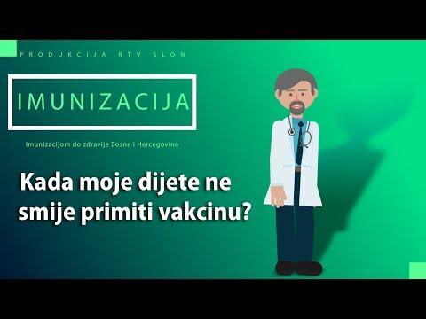 IMUNIZACIJA - Kada moje dijete ne smije primiti vakcinu?