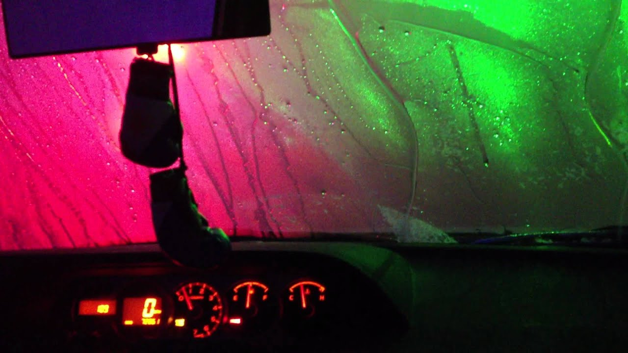 Happy Cow Car Wash Lazer Show Laser Wash YouTube - Car laser light show
