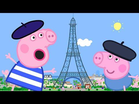 Peppa Pig Français 💙 Le Voyage À Paris 💙 Compilation Spéciale   Dessin Animé Pour Bébé