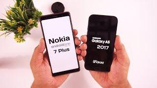 Nokia 7 Plus vs Galaxy A5 2017 Camera / Speed Test [Urdu/Hindi]