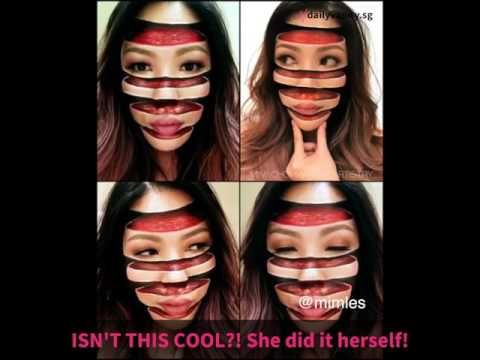 Makeup that will make you see double! | Daily Vanity