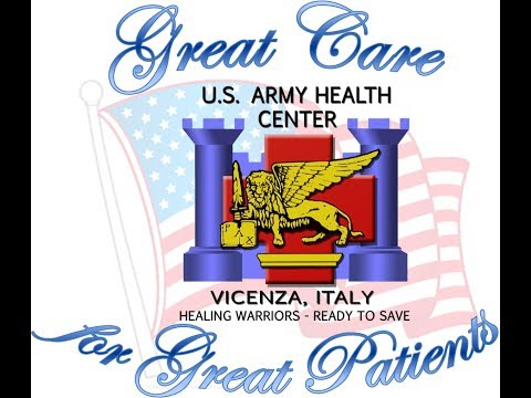 U.S. Army Health Center Vicenza, Italy Welcome Video