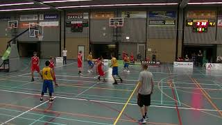 16 september 2017 Rivertrotters U22 vs BV Leiderdorp U22 68-61 3rd period