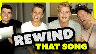 rewind that song challenge ft caspar lee conor maynard and willne