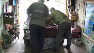 видео Установка двигателя ВАЗ 2101