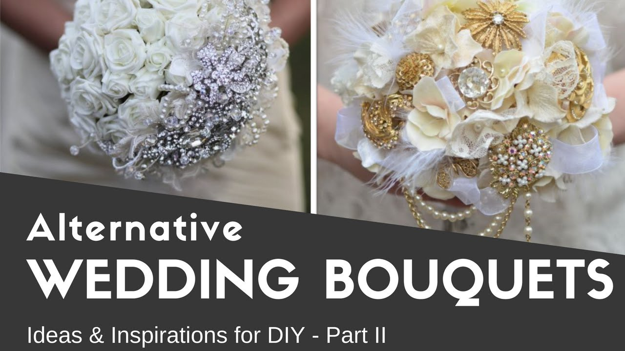 Alternative wedding bouquets part 2 ideas inspirations diy alternative wedding bouquets part 2 ideas inspirations diy brooch bouquets non traditional izmirmasajfo