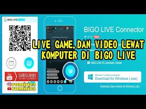 Cara Live Game Dan Video Menggunakan Bigo Connector