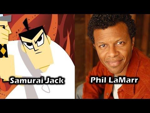 Characters and Voice Actors - Samurai Jack