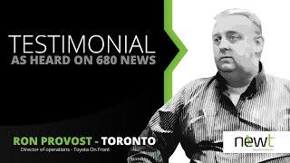 NEWT PBX Testimonial: Ron Provost, Toyota On Front - As Heard on 680 News