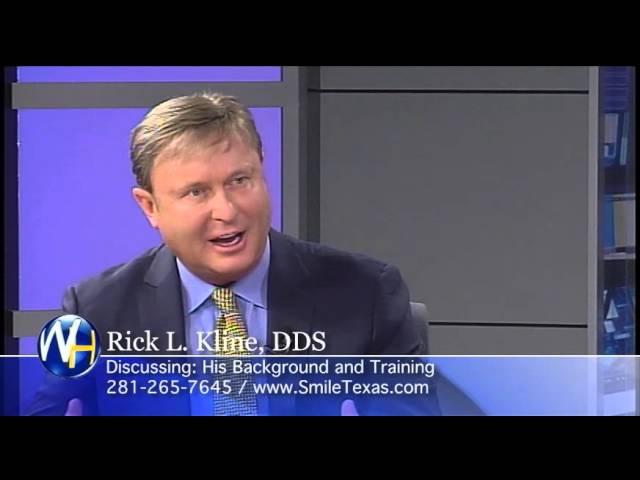 Background and Training, Sugarland, TX Dentist, Rick L. Kline, DDS