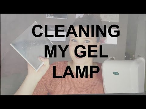 Cleaning Off The Cured Product In My Gel Lamps!