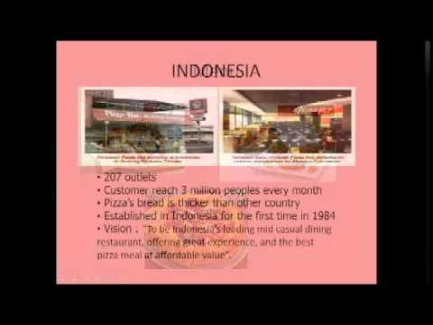 Pizza hut international business strategy