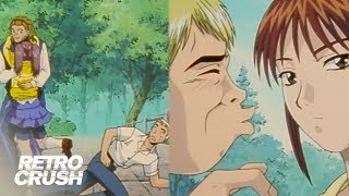 Kunio gets KO&#39d by his crush&#39s ex while Onizuka hooks up with his mom  Great Teacher Onizuka (1999)