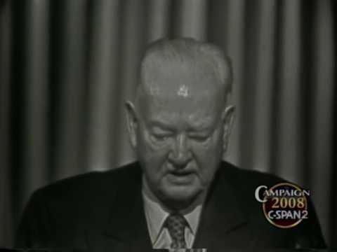 Herbert Hoover 1960 Republican Convention Address