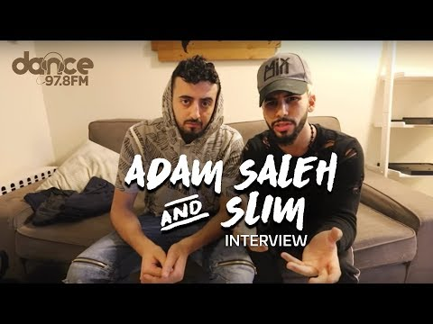 Adam Saleh & Slim interview with Rima on Dance FM 97.8