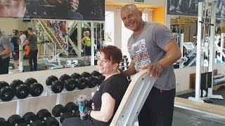 Света 56 лет Тренировка в тренажерном зале Программа тренировок для женщин