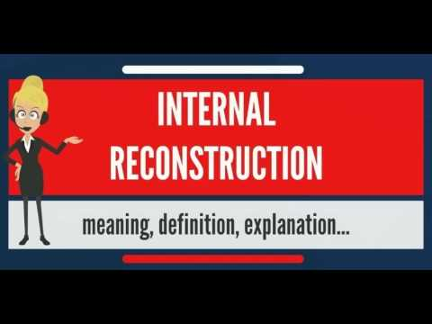 What is INTERNAL RECONSTRUCTION? What does INTERNAL RECONSTRUCTION mean?