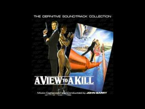 A View To A Kill Soundtrack OST Project Main Strike