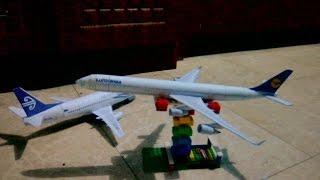Lufthansa A340 Papercraft