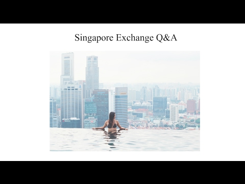 Singapore Exchange Semester Q&A | HeyDahye