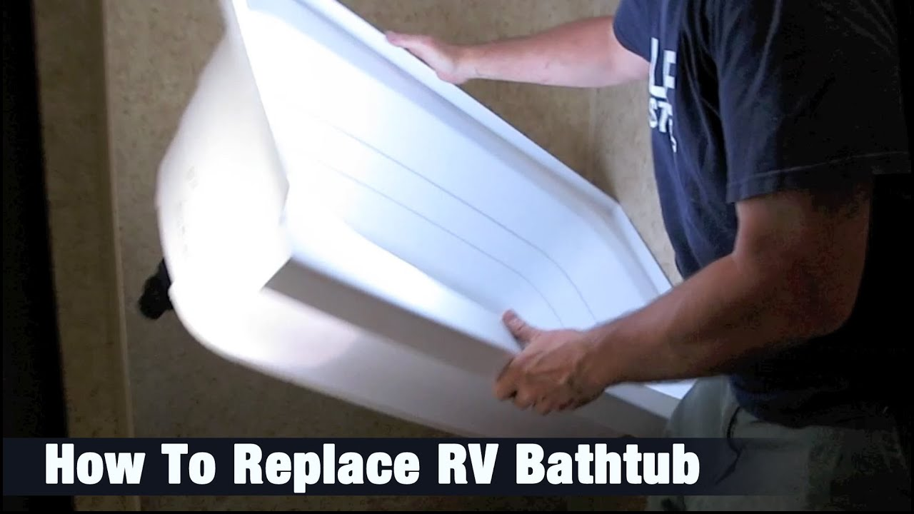 How To Replace Rv Bathtub Helpful Tips Youtube