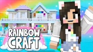 💙Building My House! Rainbowcraft Ep. 2