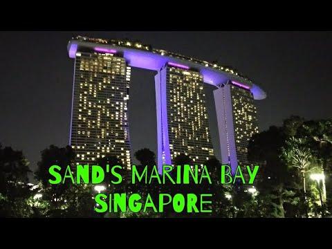 SAND'S MARINA BAY SINGAPORE II 7 STAR HOTEL