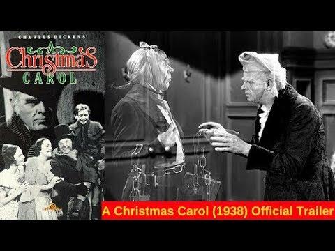 a christmas carol 1938 official trailer - A Christmas Carol Movie 1938