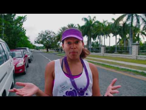 """Colour Me Purple 5K Event Honouring Women month Cayman Islands"