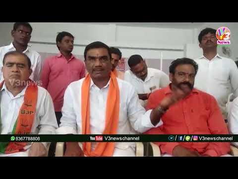 నిజామాబాద్ వర్ని మండల కేంద్రంలో సి సి డి కార్యాలయంలో బిజెపి పార్టీ ఆధ్వర్యంలో రక్తదాన | V3 NEWS