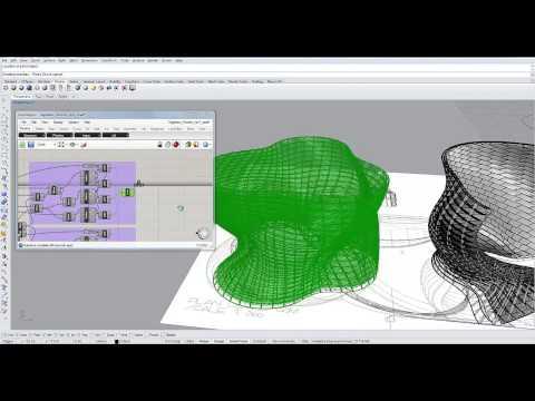 Grasshopper3D - Speed Modeling - Generative Architectural Patterns