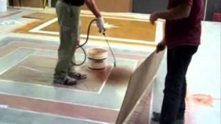 Смотреть видео бетонные полы