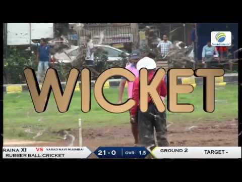 varad navi mumbai vs raina XI |  Vikhrolians Cricket Club 2017 | Mumbai