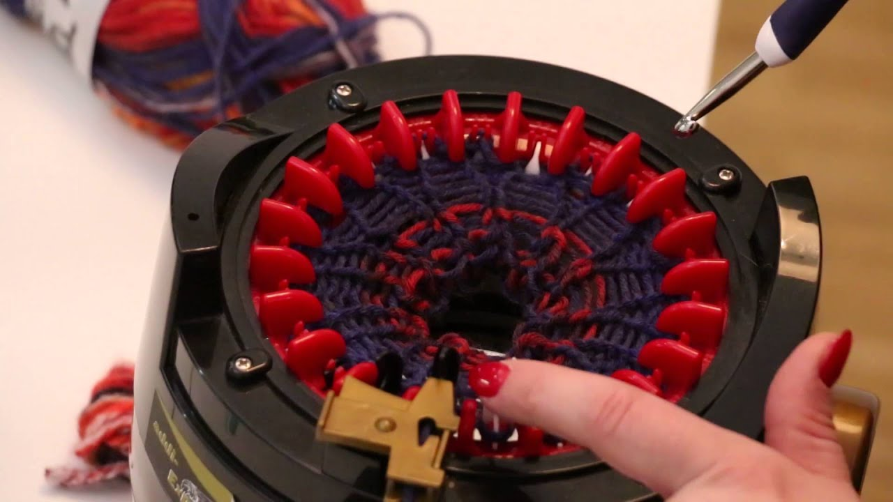 addi Ei Strickmaschine mit 6 Nadeln 1 St Mini-Strickmaschine 880-2