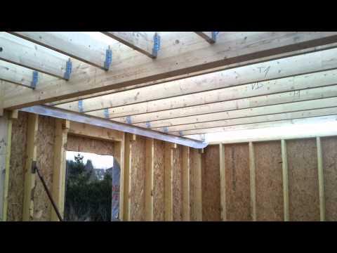 construction maison bois oise youtube