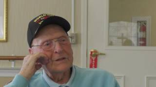 My Life Lessons Project Showcasing Veterans - Meet Thomas Harkness, WWII Veteran