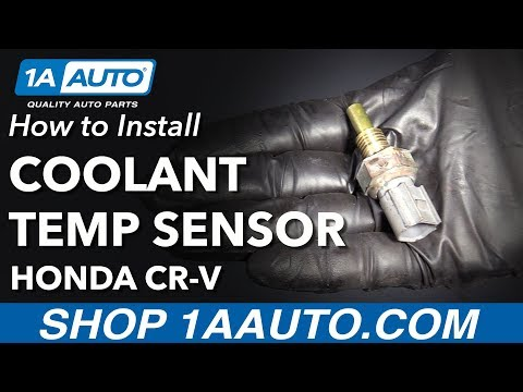 How to Replace Engine Coolant Temperature Sensor 07-11 Honda CR-V