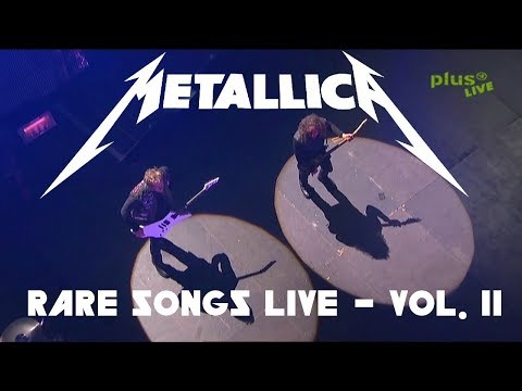 10 Rare Metallica Songs Played LIVE - Vol. 2