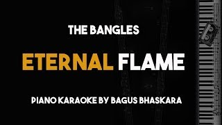 Eternal Flame - The Bangles (Piano Karaoke with Lyrics)