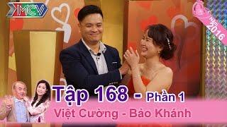 Cô vợ đòi li dị chồng vì muốn tham gia Vợ Chồng Son | Việt Cường - Bảo Khánh | VCS #168 😂