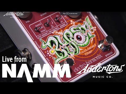 Electro Harmonix Blurst and More at NAMM 2017