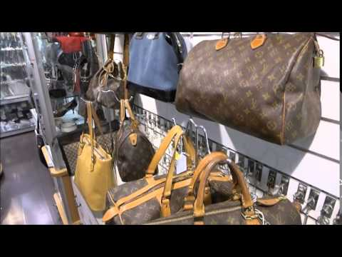 louis vuitton second hand shop in nice france with prices vintage youtube. Black Bedroom Furniture Sets. Home Design Ideas