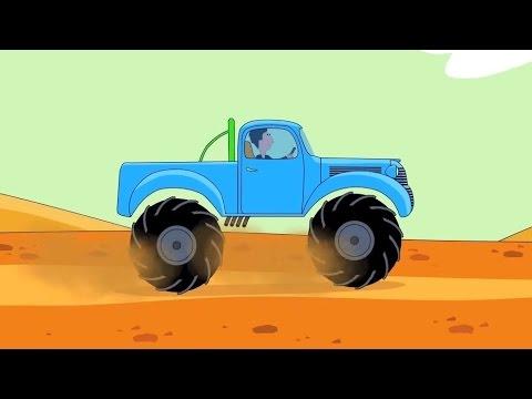 Zeichentrick-Malbuch - Monster-Trucks. Teil 1 - YouTube