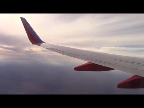 Plane Take off from Inside #2 - Phoenix to San Antonio