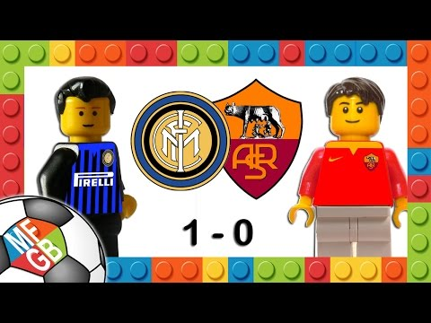 INTER-ROMA 1-0 - Lego Calcio Serie A 2015/16 - Goal Medel - Highlights E Sintesi 31/10/2015