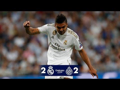 VIDEO Resumen Goles Real Madrid vs Brujas (2-2)