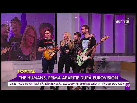 The Humans, prima apariţie după Eurovision! Detalii din culisele show-ului, după ce au ratat finala