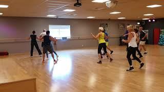 Aerobic Dance Choreography on a Disco Classic
