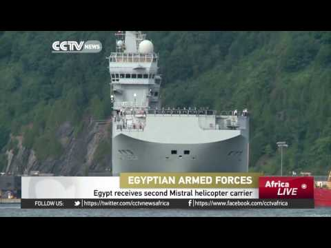 Egypt receives second Mistral helicopter carrier