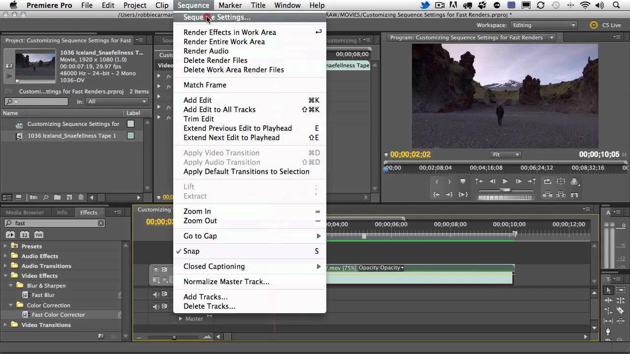 Adobe Premiere Pro Cc With